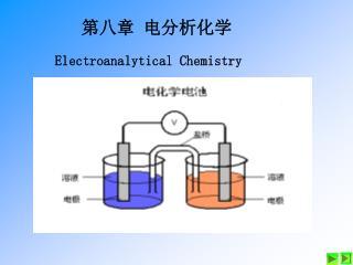 第八章  电分析化学 Electroanalytical Chemistry