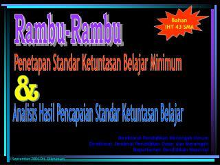 Rambu-Rambu