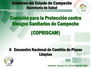 Gobierno del Estado de Campeche Secretaría de Salud