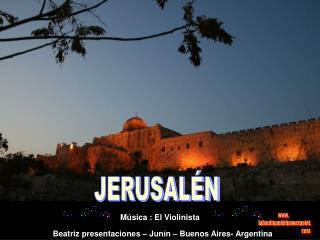 JERUSAL N