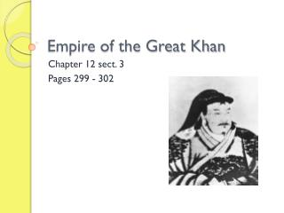 Empire of the Great Khan