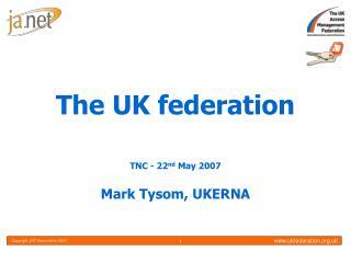 The UK federation