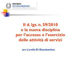 avv. Lorella Di Giambattista