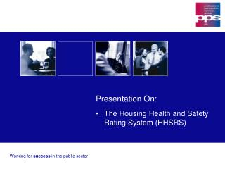 Working for  success  in the public sector