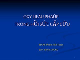 OXY LIE U PHA P TRONG HI SC CP CU