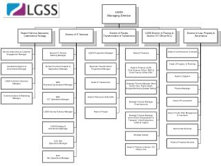 LGSS Senior Management Structure