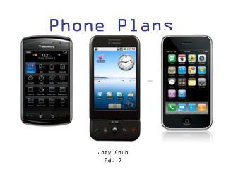 Phone Plans