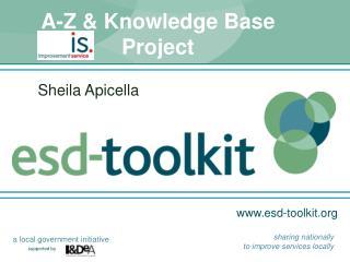 A-Z & Knowledge Base Project