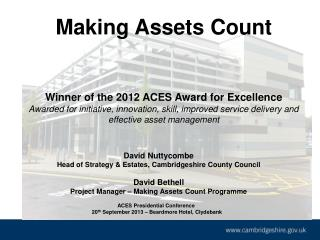 A CES Presidential Conference   20 th  September 2013 – Beardmore Hotel, Clydebank