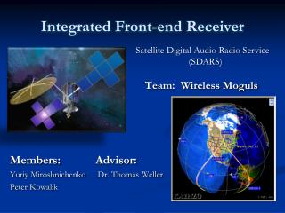 Integrated Front-end Receiver