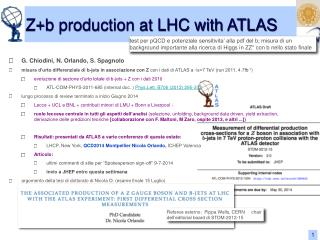 Z+b production at LHC with ATLAS