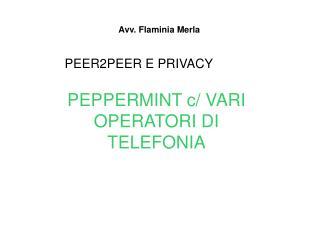 Avv. Flaminia Merla