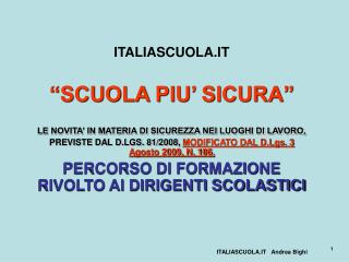 ITALIASCUOLA.IT
