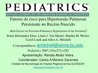 Fatores de risco para Hipertens