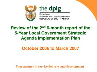 Your partner in service delivery and development