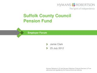 Suffolk  County Council Pension Fund