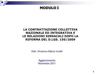 Dott. Vincenzo Marco Innelli