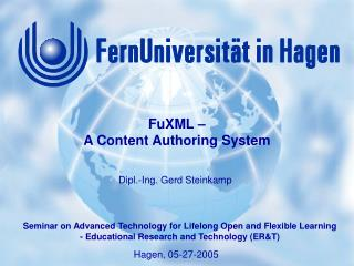 FuXML –  A Content Authoring System