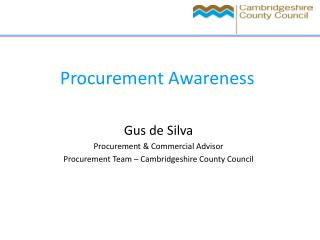 Procurement Awareness