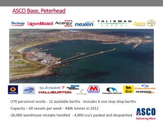 ASCO Base, Peterhead
