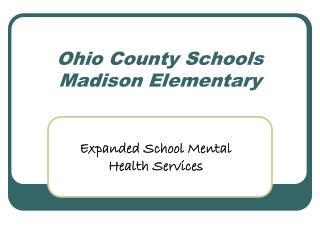 Ohio County Schools Madison Elementary