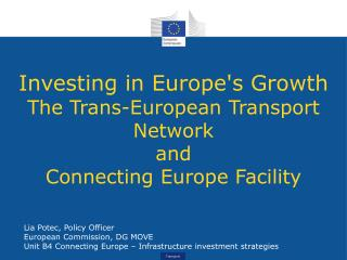 Investing in Europe's Growth The Trans-European Transport Network