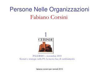 Persone Nelle Organizzazioni