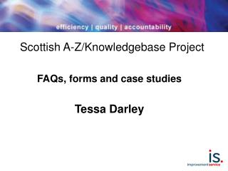 Scottish A-Z/Knowledgebase Project