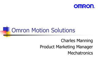 Omron Motion Solutions