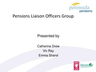 Pensions Liaison Officers Group