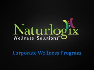 Corporate Wellness Program