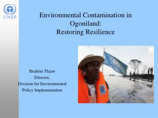 Environmental Contamination in  Ogoniland: Restoring Resilience