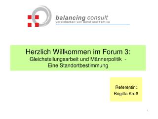 Referentin: Brigitta Kreß