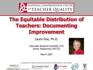 The Equitable Distribution of Teachers: Documenting Improvement