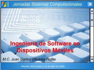 Ingeniería de Software en Dispositivos Móviles