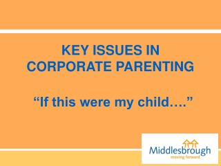 KEY ISSUES IN CORPORATE PARENTING