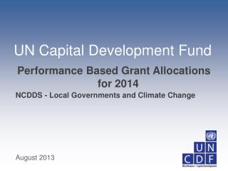 NCDDS - Local Governments and Climate Change