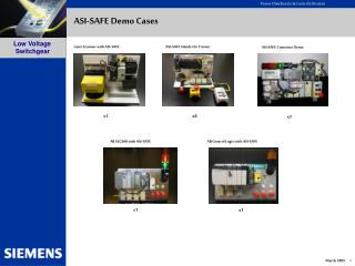 ASI-SAFE Demo Cases