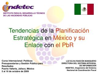 INSTITUTO PARA EL DESARROLLO TÉCNICO DE LAS HACIENDAS PÚBLICAS