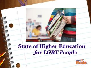 State of Higher Education for LGBT People