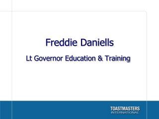 Freddie Daniells