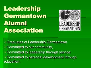 Leadership Germantown Alumni Association