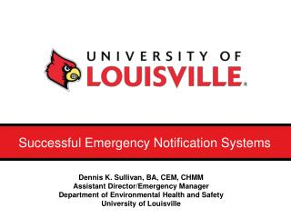 Successful Emergency Notification Systems