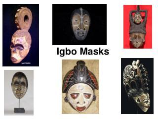 Igbo Masks