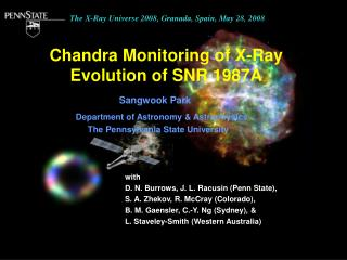 Chandra Monitoring of X-Ray Evolution of SNR 1987A