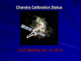 Chandra Calibration Status