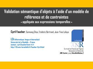 Cyril Faucher , Samnang Chea, Frédéric Bertrand, Jean-Yves Lafaye