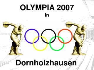 OLYMPIA 2007 in