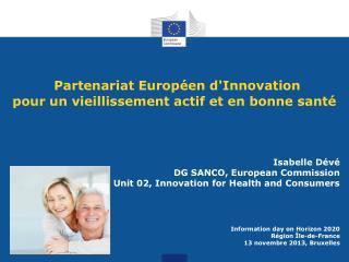 Partenariat Européen d'Innovation  pour un vieillissement actif et en bonne santé