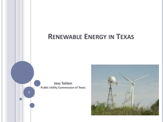 PUC Update - Electric Competition in Texas